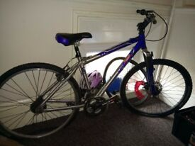 bike aluminium frame size 17 inches ONLY FRAME £10