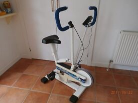 Exercise bike ( Leisurewise Triple Action ) in good condition