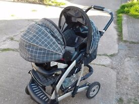 3-in-1 Pushchair/Baby carrier/Car seat