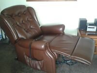 electrically operated arm chair