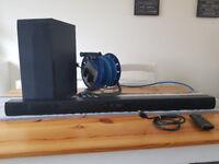 LG LAS455H 2.1 Ch 300W Soundbar with Wireless Subwoofer