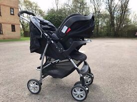Graco push chair and baby car seat for sale in excellent condition. Only used for 4 weeks.