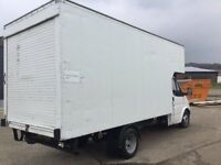 JUMBO LUTON FORD TRANSIT 350 EXTRA LONG LUTON ROLLER SHUTTER BIG VOLUME VAN CAME IN PX ANYTRIAL WELC