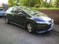 HONDA CIVIC TYPE S 2010 BLACK 1.4 PETROL - invoice and full service history