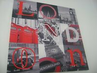 LONDON canvas print 47cm x 47 cm