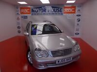 Mercedes C180 (KOMPRESSOR CLASSIC SE) FREE MOT'S AS LONG AS YOU THE CAR!!! (silver) 2005