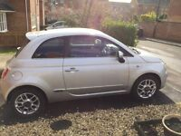 REDUCED AGAIN!! BARGAIN!! Silver Fiat 500 Sport, Low Mileage, 12 Month MOT, Low Tax, Excellent MPG!!
