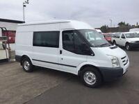 60 Ford Transit 350 Trend MWB Semi High Top Crew Van