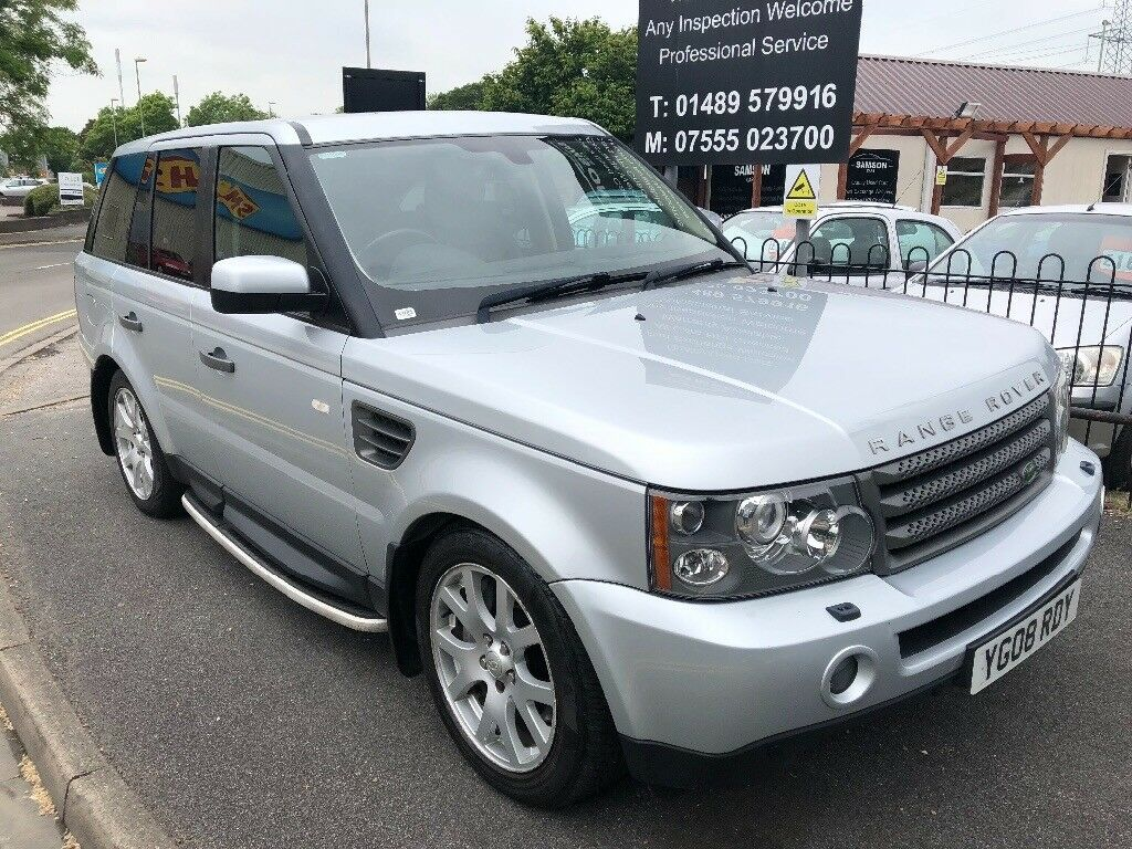 2008 Land Rover Range Rover Sport Hse Tdv6 Silver In