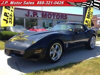 1981 Chevrolet Corvette Automatic, Leather, T-tops