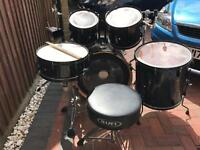 Pearl Export ELX Special Edition Fusion Drum Kit with Mapex and Gibraltar hardware & Evans heads