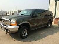 2001 Ford Excursion Limited Edition 7.3L Diesel SUV, Crossover