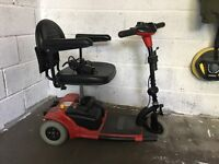 Price drop now £175 ---- Mobility scooter in good condition,3 wheeled, easily transported in car
