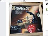 Wooden games compendium
