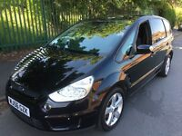 Ford S-Max Titanium Tdci 1.8 Diesel HPI Clear 7 Seater Great Condition