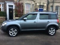 Skoda Yeti 2.0 TDI CR DPF SE Station Wagon 4x4 5dr. Full Year's MOT.