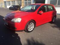 Vw golf Gt tdi 2005 05 reg in red 1 owner from new full history