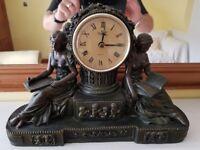 Crosa 1998 Windsor Quartz vintage mantel clock