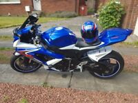 "GSXR 750 K8 Blue and white ""one owner from new"" Mint Condition!"