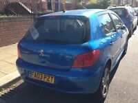 Peugeot 307 hdi, 2003, fully loaded, top of range, long mot, in daily use