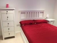 No Admin Fees, BILLS included! a double bedroom En-suite of NEW 2 double bedrooms flat, furnished
