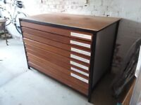 architect's plan chest of drawers