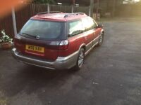 Subaru Outback 2.5 Manual Estate 4x4 (Sold Subject To Collection At The Weekend)