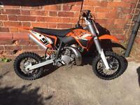 Ktm sx 50 motocross motorbike 2013