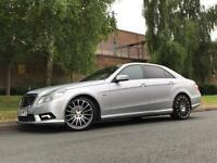 Mercedes E Class 3.0 E350 CDI Auto Sport AMG Blue Efficiency 4dr Saloon Diesel - P/X Welcome