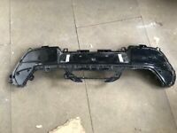 PEUGEOT 208 REAR BUMPER LOWER SECTION WITH PDC HOLES GENUINE P/N: 9823195380 (2020-2021)