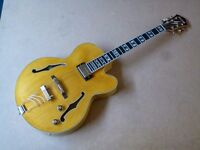 Ibanez PM2-AA Semi Acoustic jazz guitar in Antique Amber finish - unmarked, looks as new - with case