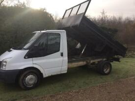 Ford transit tipper 2008