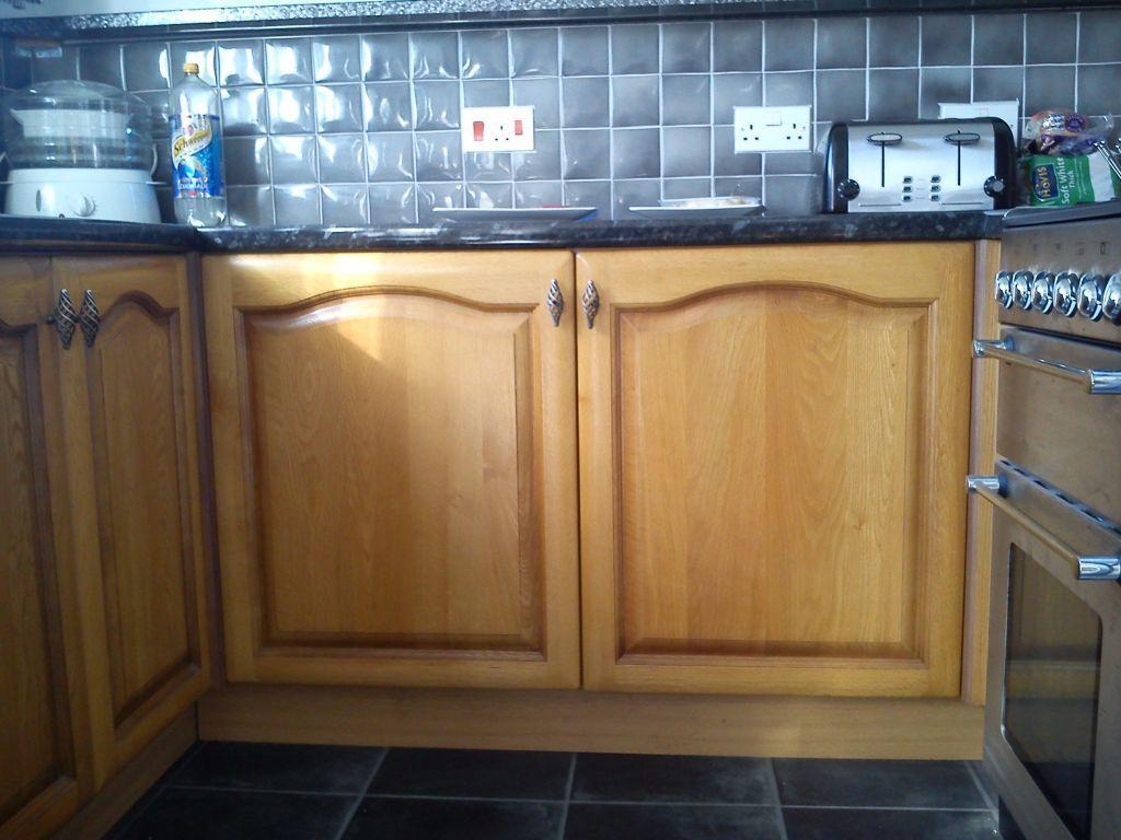 Kitchen Unit Doors Solid Oak From Moben Kitchens In