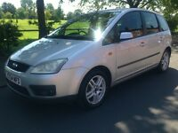 2005 Ford Focus C-Max 1.6 Petrol Zetec+Full SERVICE HISTORY+Long MOT+Sony 6 Cd With AUX FOR £995