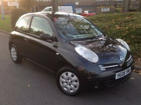 2006 NISSAN MICRA 1.2 3 DOOR ONLY **65000 MILES* **SUPERB CONDITION* CHEAP TO RUN*