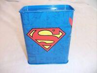 Superman Tin Money Box. Good Condition.