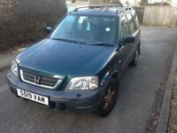 HONDA CRV 2.0 MANUAL 5 door 4X4 excellent runner