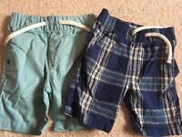 Boys shorts and trouser bundle 9-12 months