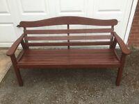 Garden Bench Hardwood