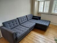 Made 4 Seater Right Hand Corner Sofa. Used but perfect condition