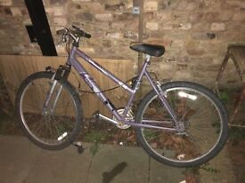 Women's bike spares and repairs