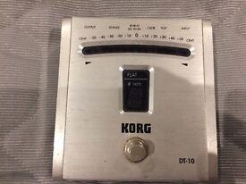 Korg DT-10 Guitar Tuner