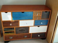 Multi-coloured Chest of drawers