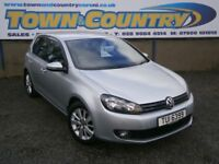 ***2012 Volkswagen Golf MATCH TDI **FROM £40 PER WEEK**FULL SH**£30 TAX**( focus astra polo ibiza )