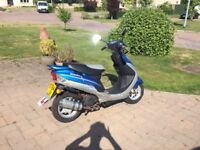 49cc pulse scout moped. Good condition, runs well. Great first bike ! Full service history !
