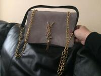 BRAND NEW YSL CLUTCH BAG RED OR GREY