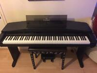 Yamaha Clavinova CVP-30 and stool