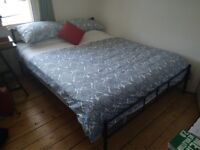 Super Comfortable HOVAG King Size Mattress with Free Bed Frame for sale