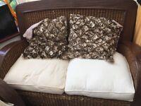 *FURTHER REDUCED*Conservatory Banana leaf furniture