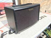 Roland Acoustic Chorus battery Amplifier AC33 AC-33
